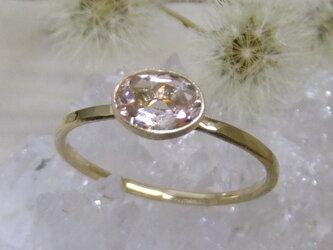 モルガナイト*K10 ringの画像
