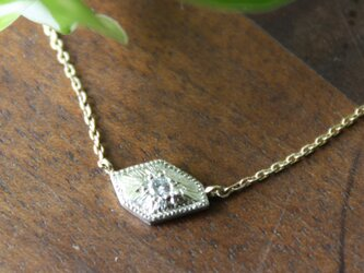 Fragment Diamond Necklace FMN-01 K18*K10WGの画像