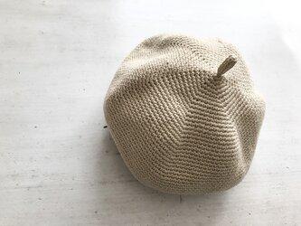 マッシュベレー帽[生成り]の画像
