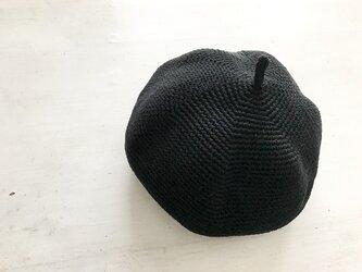 マッシュベレー帽[黒]の画像