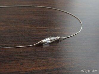 スワロフスキーロングビーコンのネックレス《N-236》の画像