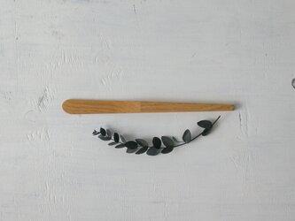 栗の木のバターナイフ1の画像
