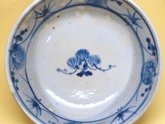 染付平鉢(松竹梅)の画像