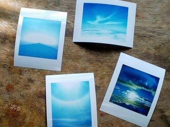 『冨士美景』シールプリント4種の画像
