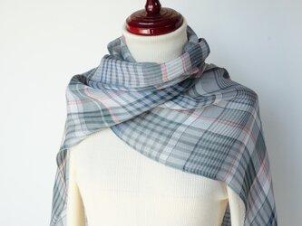 手織りリネンストール【遥風*06】の画像