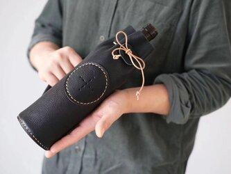 ワインボトル革袋 ボトルカバー ワインバッグ 贈り物に 720~750mlに対応の画像