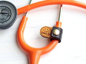 聴診器 スマートネームタグ(ブラック)の画像