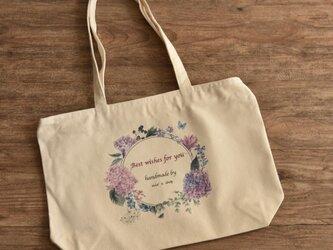 【mio's shop 限定】帆布手持ちトートバッグの画像