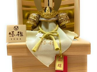 五月人形 白鐘4号兜檜収納飾りの画像