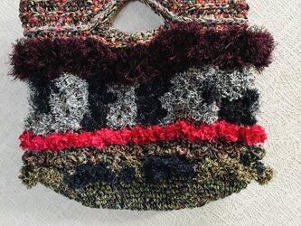 ④オリジナルデザインニットファーバッグの画像