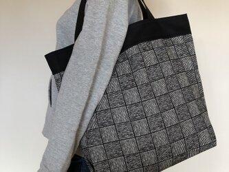 コンパクト おかいのもかばん  格子 受注製作の画像