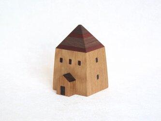 とんがり屋根のハウスオルゴールの画像