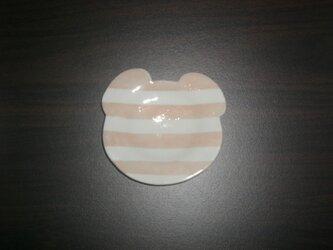 耳付楕円皿の画像