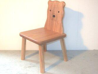 クマ椅子の画像