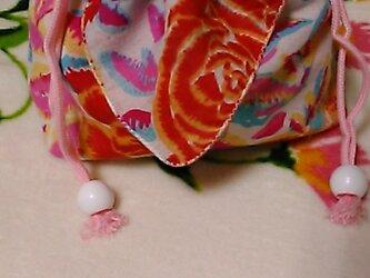 巾着袋(木綿)の画像