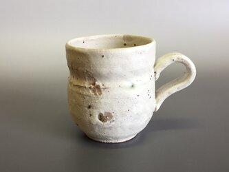 粉引マグカップ(だるま)の画像