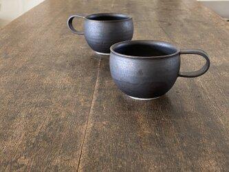 鉄釉コロンカップの画像