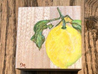 檸檬の小箱 ミニ木箱 桐箱 ギフトボックスの画像