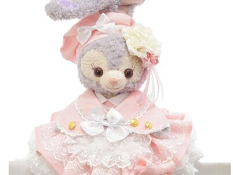 ステラ・ルー 服 コスチューム ケープ付桜色ドレス 本体無 Sサイズ用 送料無料の画像