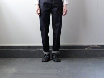 14oz.selvedgedenim jeans/生デニム/ストレートの画像