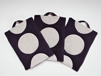 鍋つかみ 深紫の画像