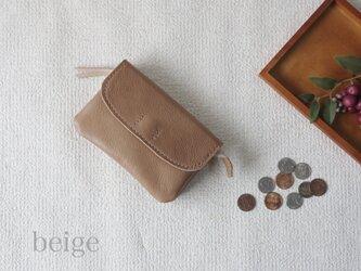 柔らかなお財布(beige 2)の画像