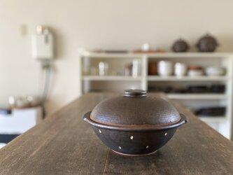 水玉土鍋の画像