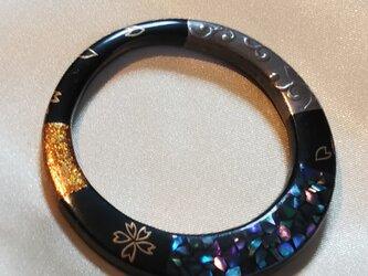 Y様ご依頼品 蒔絵ペンダント 輪の画像