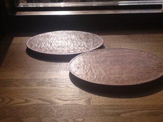 オーバル皿(オイル仕上げ)の画像