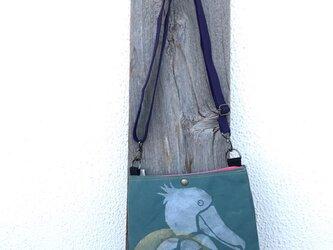 ハシビロコウ ちっちゃめアフタヌーンバッグの画像