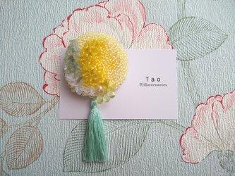 刺繍ブローチ Dandelionの画像