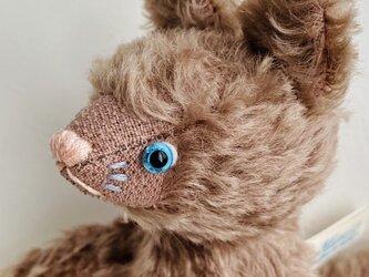 シャトン・プラリネ 子猫のぬいぐるみ 猫 ネコ ねこ プレゼント ギフト 贈り物の画像