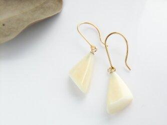 k10✼Makkoh pierced earrings 92075の画像