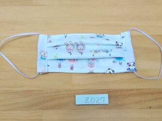 Z027 春柄マスク 子供用 2個セットの画像
