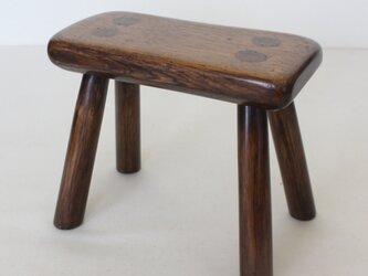 カントリースタイルの素朴な豆スツール NO.1964の画像