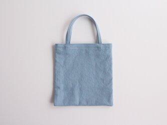 やさしい布の小さなバッグ【空】 帆布の画像