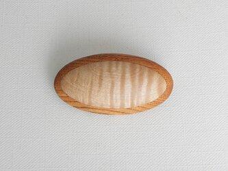 ブローチ -トチ・ケヤキ楕円大-の画像