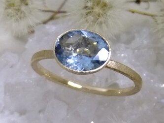 サンタマリア*K14lunapinkgold ringの画像