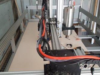3Dプリンター(実はCNCです)サブロクレリーフ製作に特化して試作したマシンの材料セットです。PC制御彫刻機材料の画像