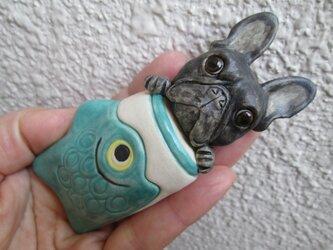 鯉のぼり★フレンチブルドッグ③の画像
