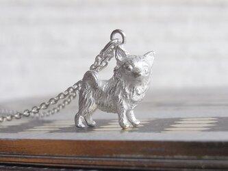 チワワ(ロング)のペンダントの画像