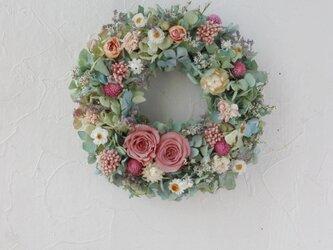 (再販)Spring breeze wreathの画像