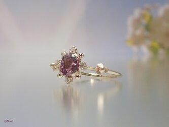 ブルームブロッサム リング   ラベンダーピンク(Bloom Blossom Ring)の画像