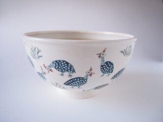 鉢 ホロホロチョウの画像