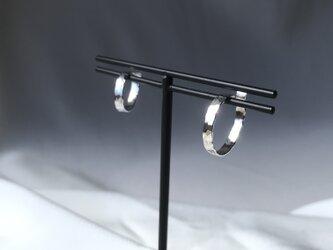 Silver950 シンプルなイヤーカフ 小、中サイズセットの画像