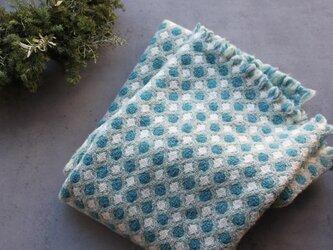 2重織りブランケット(Blue)の画像