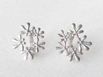セリ科の花のイヤリングAの画像