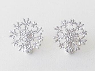 セリ科の花のイヤリングBの画像