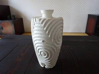 珊瑚砂肩衝三脚しのぎ花器3の画像