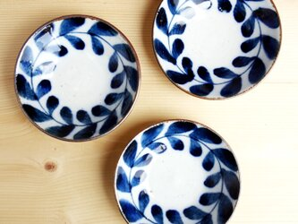 薬味皿 クサツナギ柄の画像
